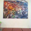 ELLEN MOERSHEL Move or Be Moved oil on canvas, 2013