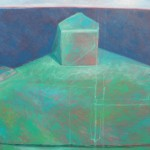 Stem Post to Horizon, oil on canvas
