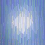 Nancy Stevens, Light, 3'x3', acrylic on hardboard