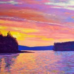 Sailing Home Sunset
