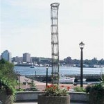 Column at Alderney Landing, Dartmouth, NS