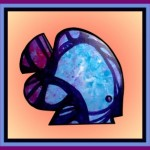 Abstract Blue Gill