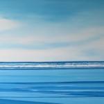 "Clam Harbour Summer, 30"" x 36"", oil, 2012"