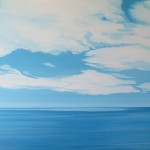 """Mabou, Findaly Point #1, 30"""" x 36"""", oil, 2012"""