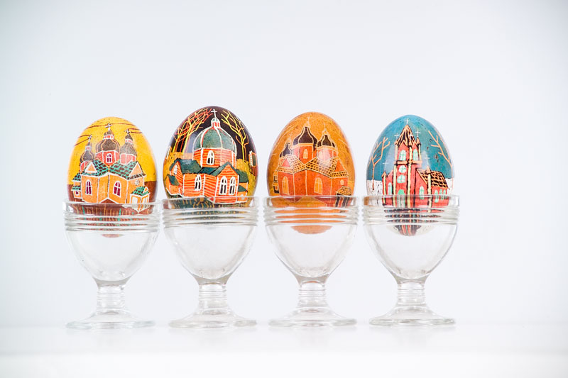 16eggs with churches
