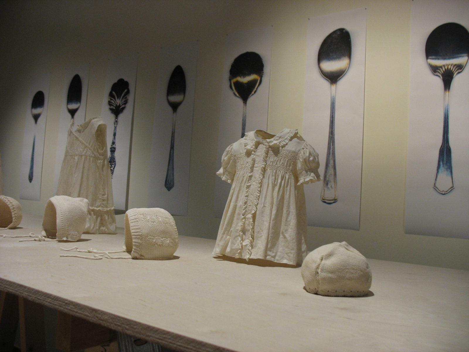 Sarah Saunders, exhibition view: 2011 Assembly Lines; Confederation Centre Art Gallery