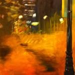 """Jack Ross, """"Duke Street"""", oil on canvas, 4x3 ft. 2015."""