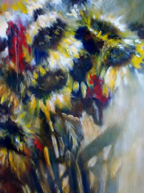 Marilyn Whalen, Glory, acrylic on canvas, 24x36, 2010