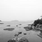 Spruce Hill Lake, Nova Scotia: Fog, 2015. Digital photography.