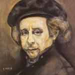 Rembrandt, 11x14, pastel, 550