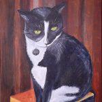 Sailor, 16x20, acrylics on canvas